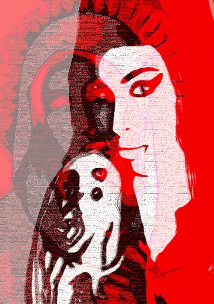 Amy Winehouse by ARTofMEWA