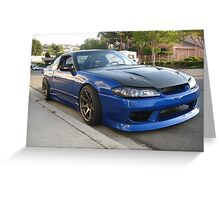 240sx s13.5 Greeting Card