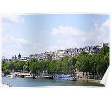 Paris sur La Seine (Paris on the Seine)  Poster