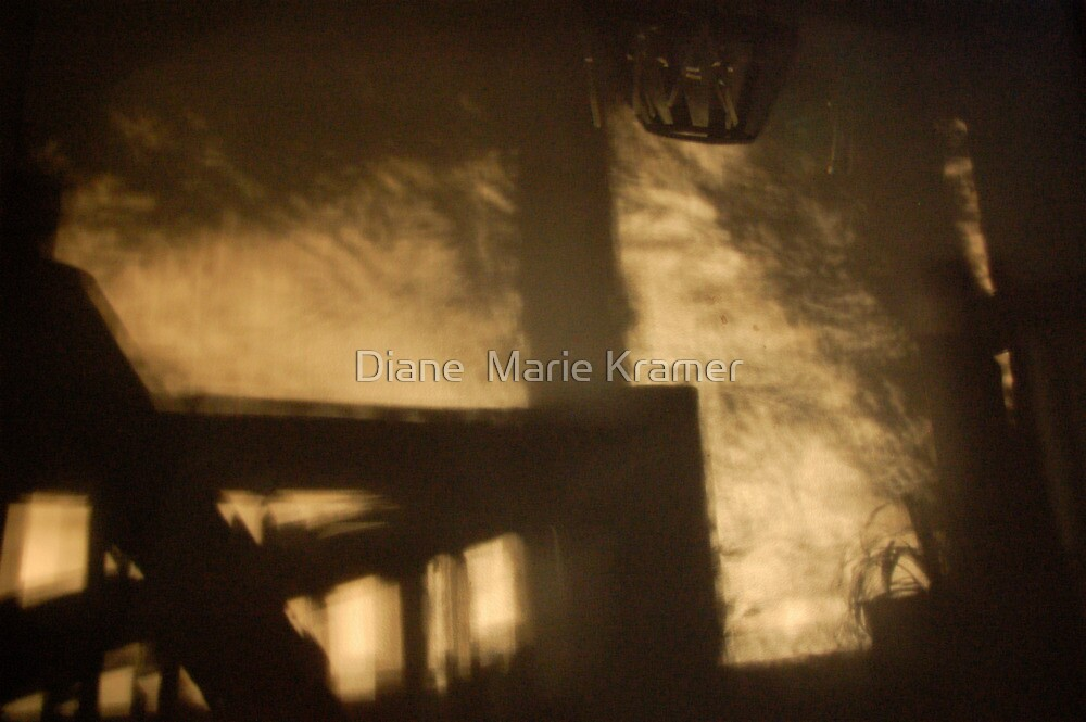She Quickly Ascended the Stairs by Diane  Kramer