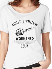 Ash vs Evil Dead - Ash's Chainsaw Women's Relaxed Fit T-Shirt