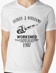 Ash vs Evil Dead - Ash's Chainsaw Mens V-Neck T-Shirt
