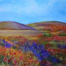 California Hills-Acrylic Painting by Esperanza Gallego