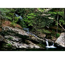 Falls in the smokies Photographic Print
