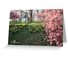 Spring at shaw nature reserve Greeting Card