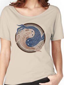 yin yang fish, shuiwudao mandala Women's Relaxed Fit T-Shirt