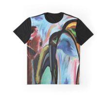 Depressed Dino Graphic T-Shirt