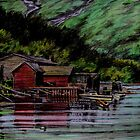 Balestrand, Norway by Freda Surgenor