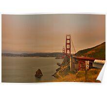 Golden Gate of San Francisco Poster