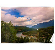Beautiful Cascades Poster