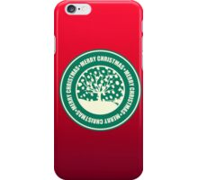 """Merry Christmas"" Coffee Cup Funny Meme iPhone Case/Skin"