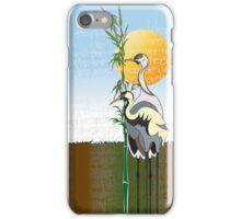 """Cranes"" iPhone Case iPhone Case/Skin"