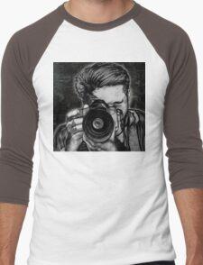 Wide Angle Lens Men's Baseball ¾ T-Shirt