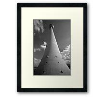 TV Tower Framed Print
