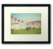 summer is in the air Framed Print