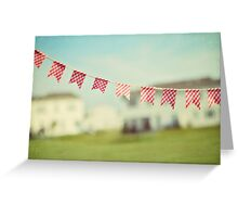 summer is in the air Greeting Card