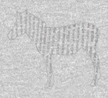 Zebra typography One Piece - Long Sleeve