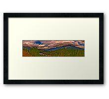 Nature Panoramic Framed Print