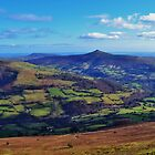 Sugar Loaf Mountain, Abergavenny by Paula J James