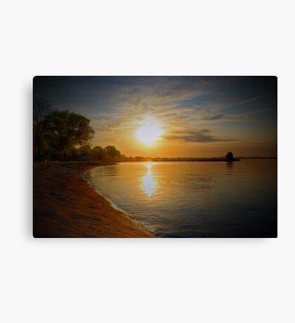 Lake Sky Canvas Print