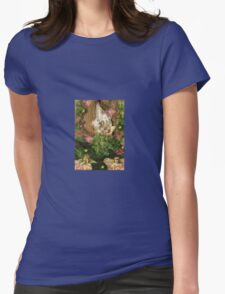 Vintage style Faeries 1930's in the Tree with Mushrooms T-Shirt