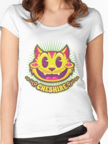 Cheshire Originals - Vintage Tutti Frutti Women's Fitted Scoop T-Shirt
