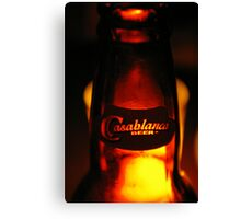 Casablanca Beer (Morocco) Canvas Print