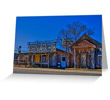 Scenic Saloon Greeting Card
