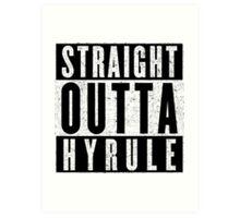 Hylian with Attitude Art Print