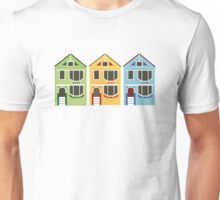 The Painted Ladies from San Francisco, California Unisex T-Shirt
