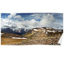The Cairngorms in May Poster