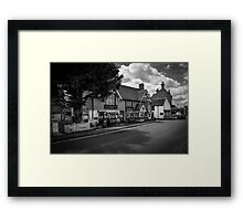 The Greyhound Pub: Lingfield, Surrey, UK. Framed Print