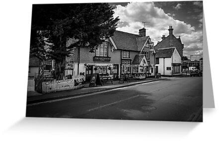 The Greyhound Pub: Lingfield, Surrey, UK. by DonDavisUK