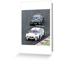 Matching Racers Greeting Card