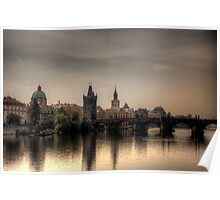 Prague Warm Landscape Poster