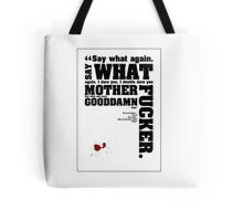 Pulp Fiction Quotes Tote Bag