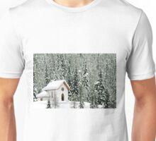 """White Christmas"" in Misurina - Italy Unisex T-Shirt"