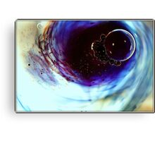 There's something in the water Canvas Print
