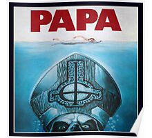 Papa Emeritus (Jaws) Poster