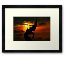 Naga Framed Print