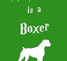My Patronus is a Boxer by OuroborosEnt