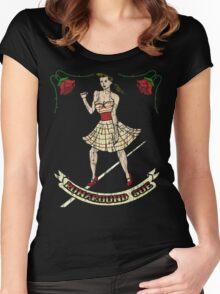 Runaround Sue Women's Fitted Scoop T-Shirt