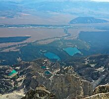 Top of Grand Teton SouthEastward by EarthPhoenix