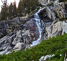 Glacier fed Waterfall at Grand Teton by EarthPhoenix