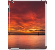 Sunrise by the beach iPad Case/Skin