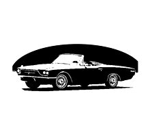 Ford Thunderbird Convertible 1966 by garts