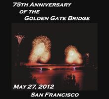 Fireworks - 75th Anniversary of the Golden Gate Bridge Kids Clothes