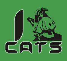I (Alf) Cats by Ten Ton Tees