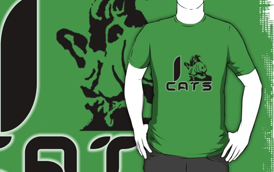 I (Alf) Cats by Ten Ton Tees