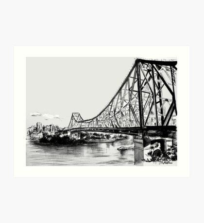story bridge Art Print